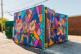 artists murals avenue art days wichita ks see the signs mural in the douglas design district in wichita ks