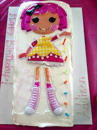 lalaloopsy cake topper cakes and cookies lalaloopsy cake