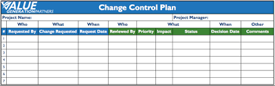 Project Project Management Change Request by Managing Change During Project Lifecycle Rod Baxter Pulse