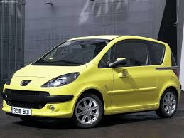 peugeot yellow peugeot 1007 2005 picture 2 of 41