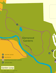 Great Loop Map Glenwood Gardens Garden Loop Trail Great Cincy Strides