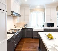 kitchen cabinets transitional style two tone kitchen two tone kitchen cabinets for a transitional style