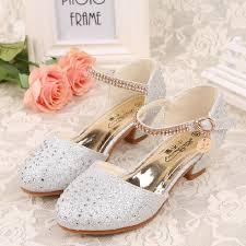 wedding shoes for girl children princess sandals 2017 new summer kids wedding shoes
