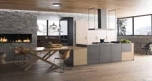 agencement cuisine ouverte amenagement cuisine ouverte avec inspirations idee salon newsindo co