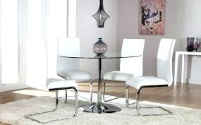 glass dining room sets small glass dining table set glass dining table for small