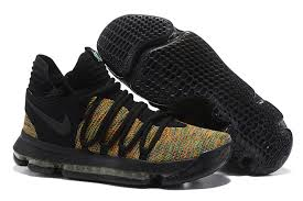 2017 nike kd 10 black multi color for sale cheap kd 10 sale