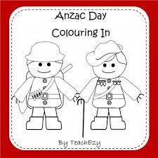 anzac day colouring pages a collection of colouring pages to