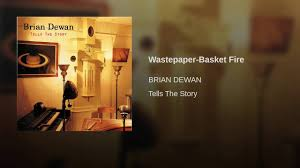 wastepaper basket fire youtube
