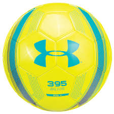 armour 395 blur soccer bal size 5 hi viz