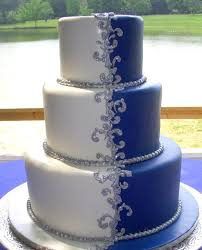 royal blue and silver wedding 8 males royal blue wedding cakes photo royal blue wedding cake