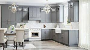 modern grey kitchen cabinets rta wood 10x10 modern shaker grey kitchen cabinets gray
