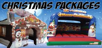 christmas parties bouncy castle u0026 inflatable hire in leeds