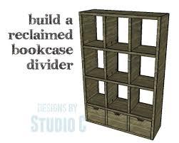 an easy to build triple duty bookcase u2013 designs by studio c