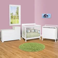 mini crib and changing table da vinci 3 piece nursery set kalani mini crib 3 drawer changing
