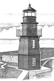 florida lighthouse association inc fl lighthouse drawings by