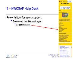 Desk Reference System by Nwcsaf Help Desk U0026 Msg Reference System Nwc Saf 2015 Users
