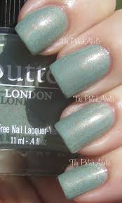 the polishaholic butter london two fingered salute