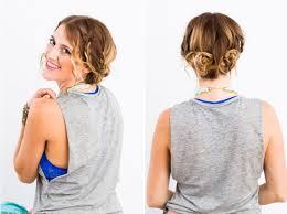 Hochsteckfrisurenen Mit D Nen Haaren by Lässige Hochsteckfrisuren Für Mittellange Haare 12 Tolle Styling