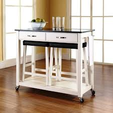 White Kitchen Cart Island Portable Kitchen Islands In 11 Clean White Design Rilane