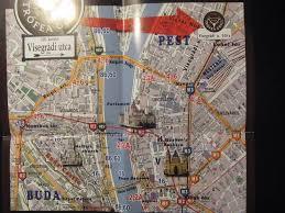 Map Of Budapest Budapest Helena Travelling