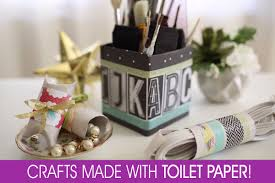 toilet paper crafts organizing home stuff in style