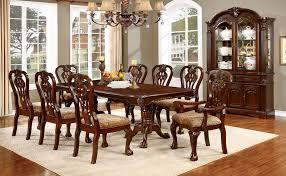 von furniture elana formal dining room set