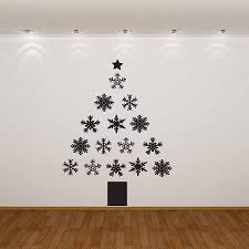 wall stickers christmas wall stickers christmas sweet snowflake wall stickers full size