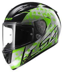 green motorcycle jacket ls2 arrow r stride integral road black green helmets ls2