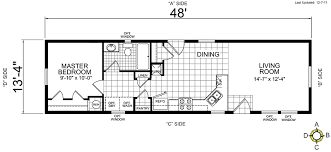 5 Bedroom Manufactured Home Floor Plans Single Wide Mobile Home Floor Plans Bookks Pinterest Single