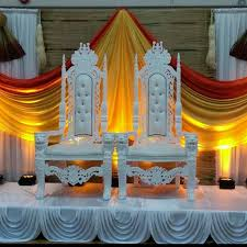 wedding decoration ideas carved wooden light green classic sofa