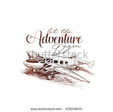 aeroplane sketch stock images royalty free images u0026 vectors