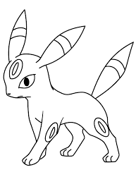 pokemon umbreon pokemon coloring pages pinterest pokemon