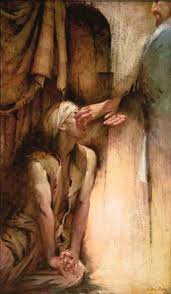 Christ Healing The Blind He Anointed The Eyes Of The Blind Man U2014 Walter Rane Prints