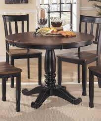 round dining room sets modern round glass top dining table with