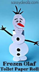 frozen olaf toilet paper roll craft for kids olaf olaf craft