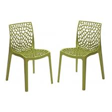 chaise de jardin design chaise jardin verte l univers du jardin