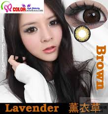cib lavender xtra brown colored contacts pair wfl a54 9 99