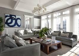 Grey Wall Living Room Interior Design  Best Grey Walls Living - Grey living room design ideas