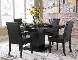 black dining room chairs room design ideas