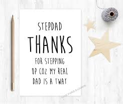 thanksgiving for birthday greetings stepdad card stepdad birthday card thanks for stepping up