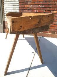 antique abattoir butcher s block table omero home antique abattoir butcher 039 s block table