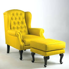 Wing Chairs Design Ideas Yellow Wing Chair Enchanting Design For Modern Wing Chair Ideas