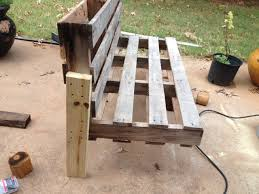 Bench Made From 2x4 5 Easy Steps To Turn A Pallet Into An Outdoor Patio Bench Rk