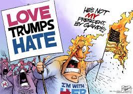 Nate Beeler Cartoons Beeler Cartoon Love Trumps