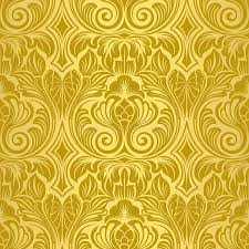 Basta Gold seamless wallpaper stock vector. Illustration of silhouette  &VL35