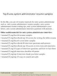cover letter unix manager resume unix project manager resume unix