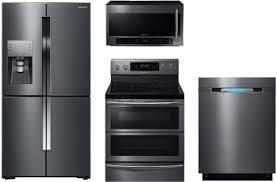 electric kitchen appliances samsung sambs5fd1 samsung 4 piece kitchen appliances package with