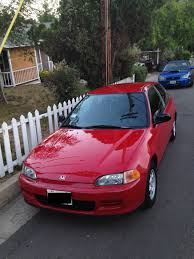 honda civic vx for sale ca 1995 honda civic vx 2nd owner testing waters