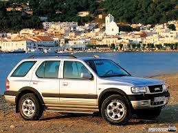 opel frontera 1995 автомобиль opel frontera все модификации и их характеристики