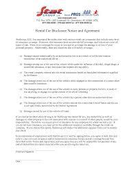 6 best images of car rental agreement form pdf car rental